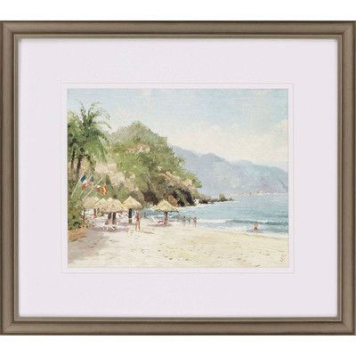 Paragon Puerto Vallarta Beach by Thomas Kinkade Framed Painting ...