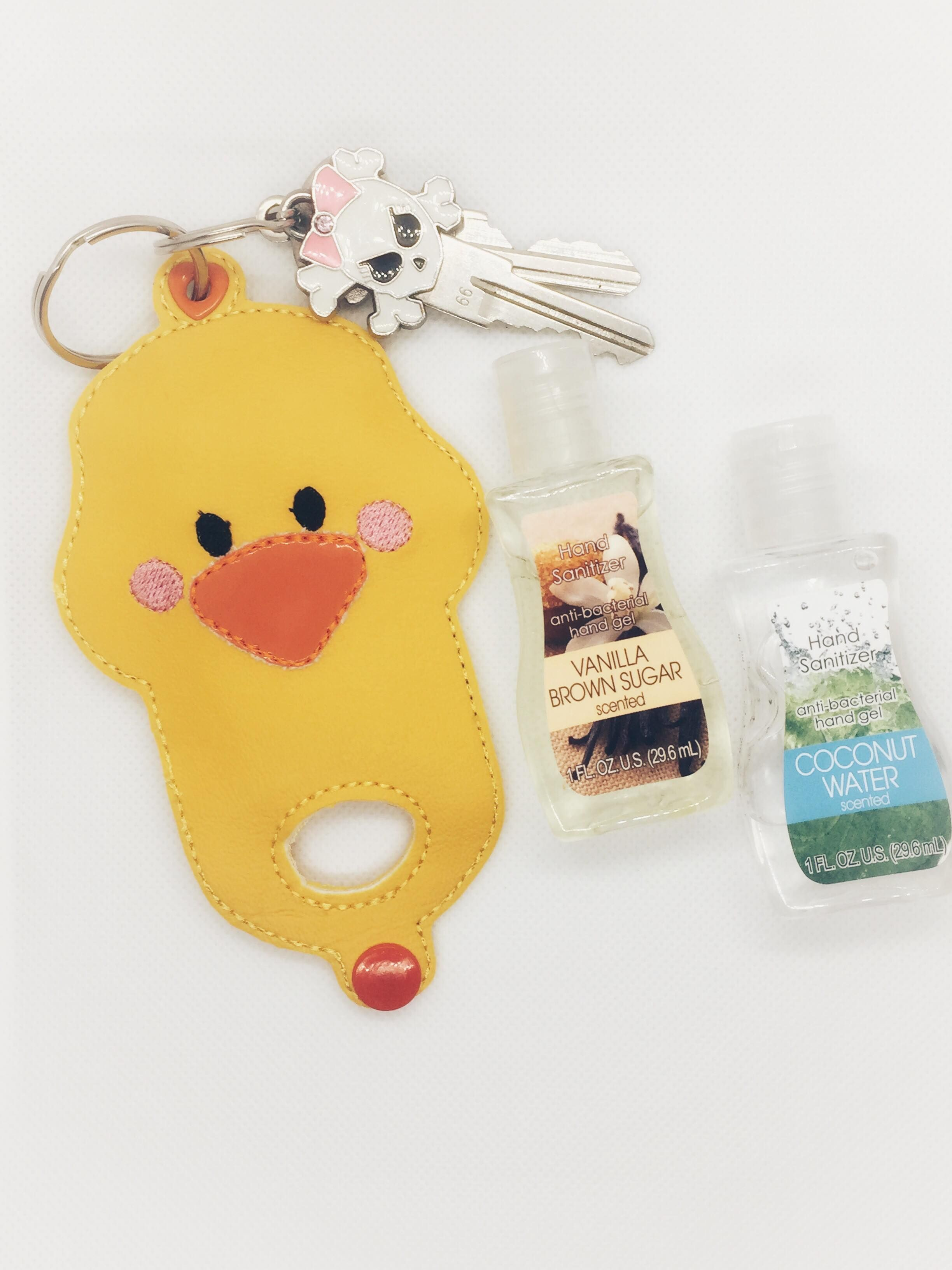 This Adorable Duck Hand Sanitizer Holder Is A Perfect Accessory
