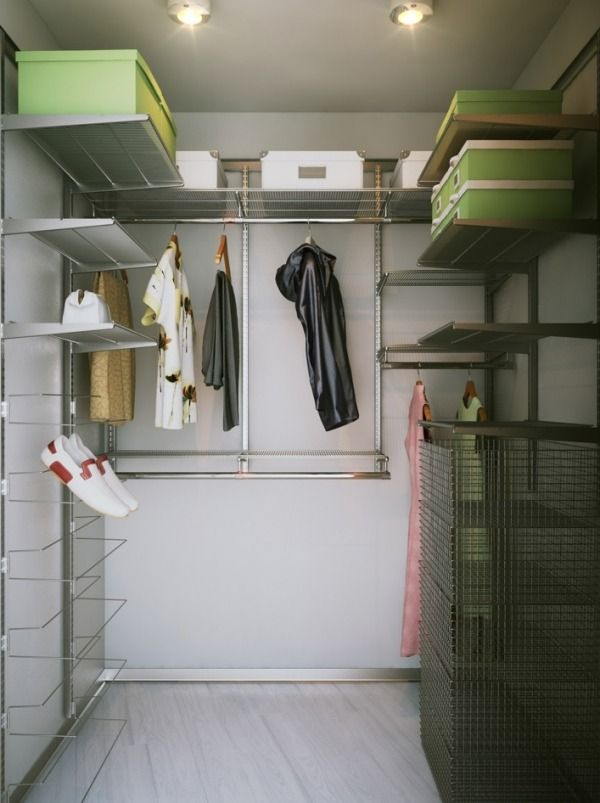 DIY Projekt Für Begehbaren Kleiderschrank Ordnungssystem Für  Schuhe Schachtel