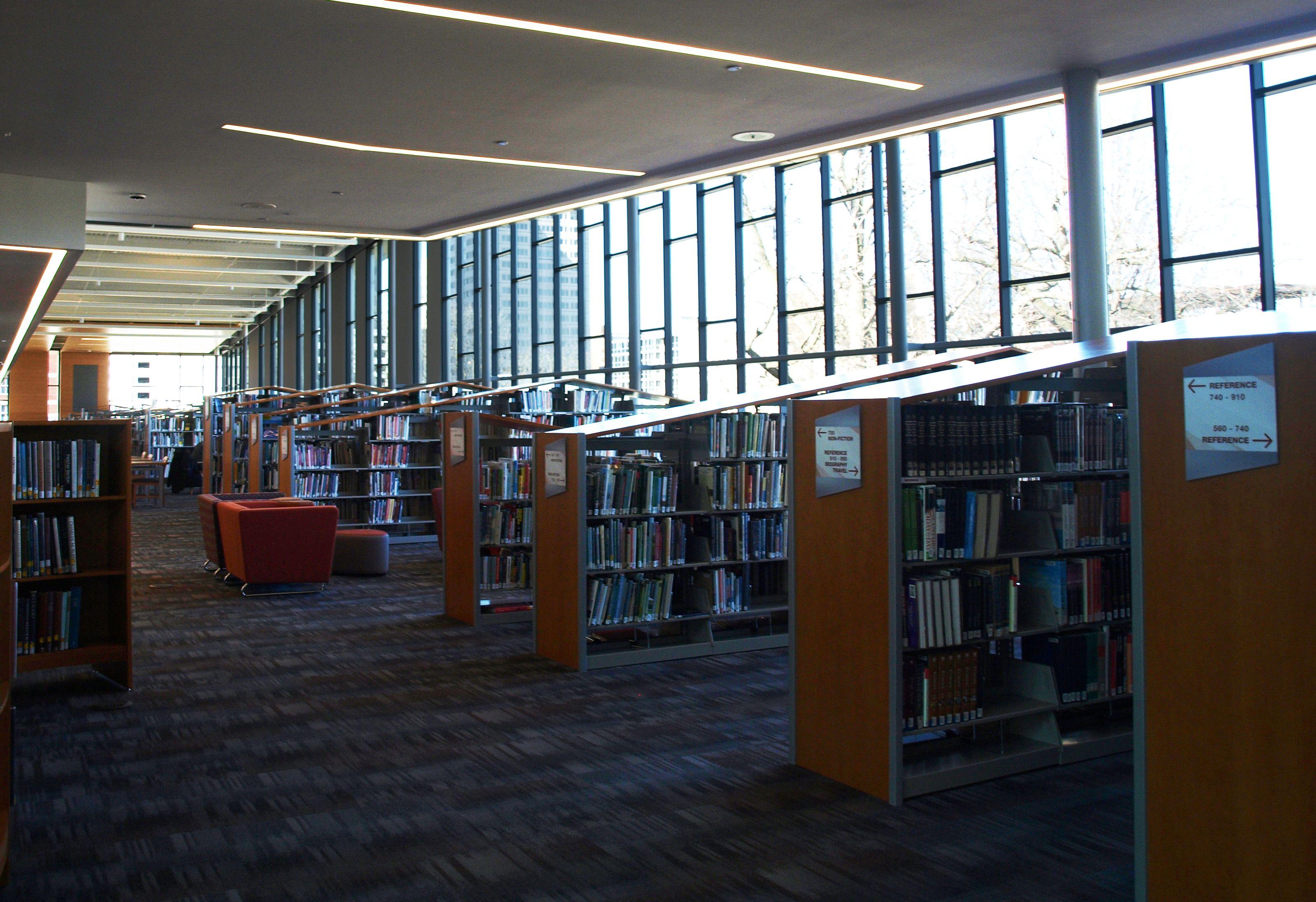 Dayton Metro Library Main Branch Dayton Oh Asi Signage