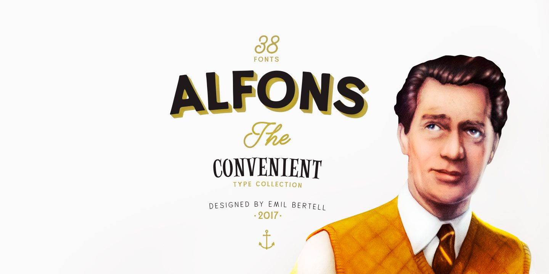 Download Alfons™ - Webfont & Desktop font « MyFonts | Download ...