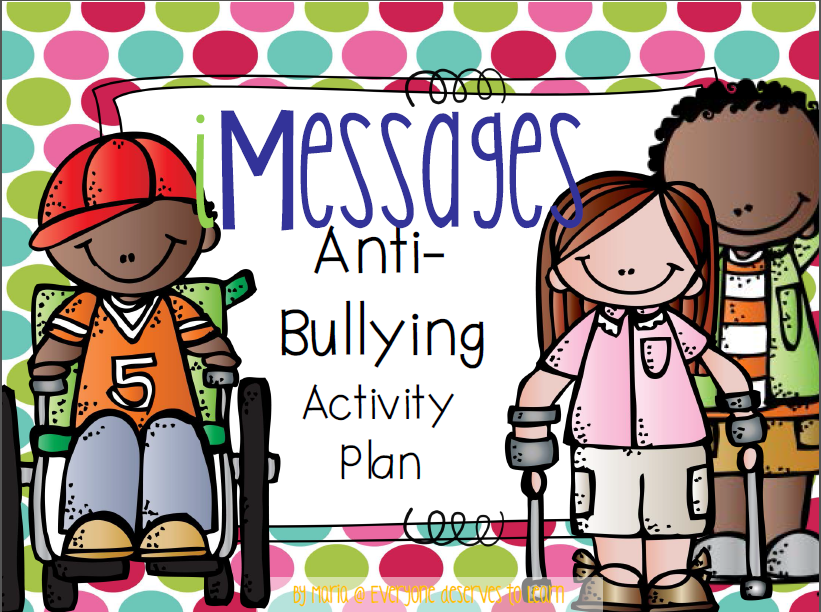 Anti-bullying/stand up to bullying activity plan.