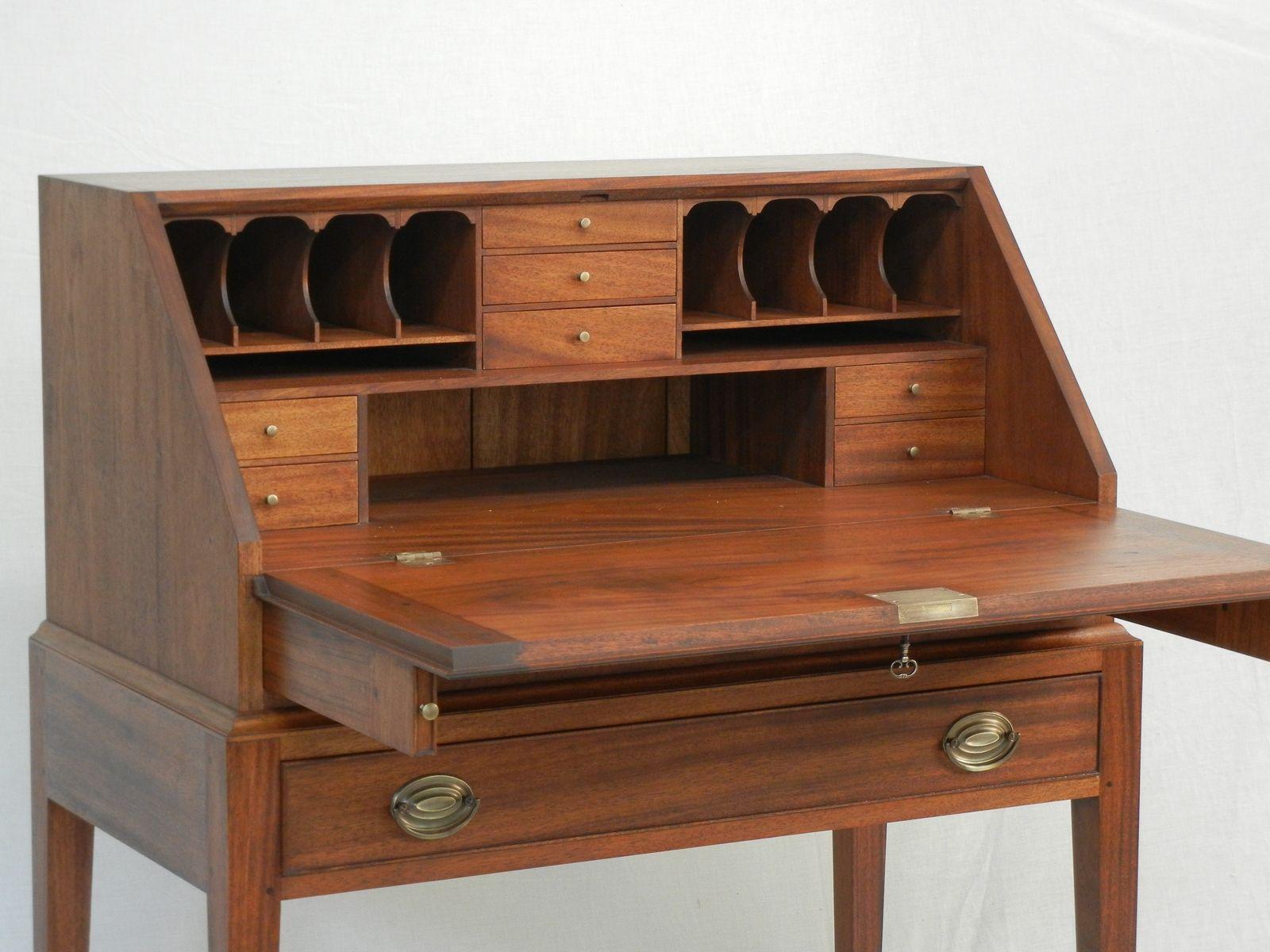 Mahogany Desk Slant Top Desk Nice Place To Write An Autobiography Mahogany Desk Woodworking Desk Plans Cabinet Woodworking Plans