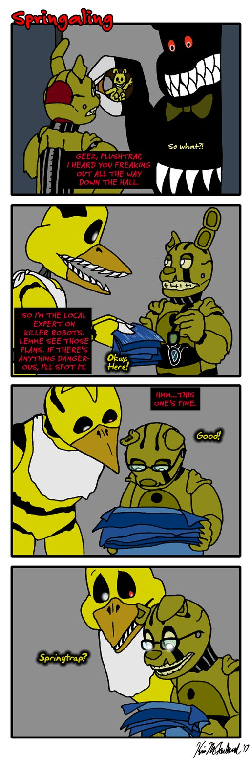 Springaling 289: Hidden Message by Negaduck9. (With images ...