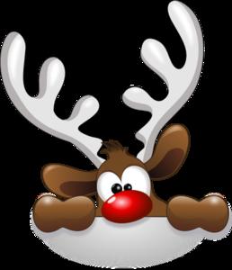 cabeza del reno clip art vector clip de arte en l nea libre de rh pinterest com reindeer clipart free download santa reindeer clipart free