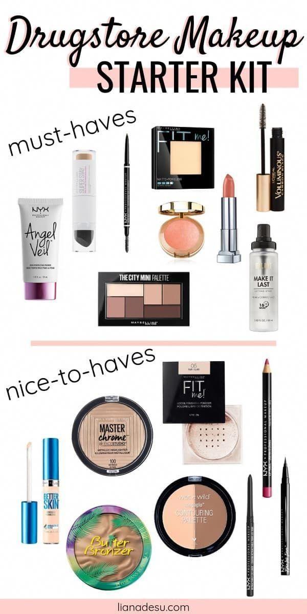 Ultimate Drugstore Makeup Starter Kit for Beginners - liana desu -   - #Beginners #desu #Drugstore #Kit #liana #MakeUpForBeginners #Makeup #Starter #Ultimate