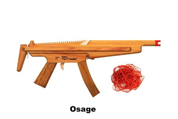 Model MP5 Rubber Band Machine Gun with Sliding Stock | Fun