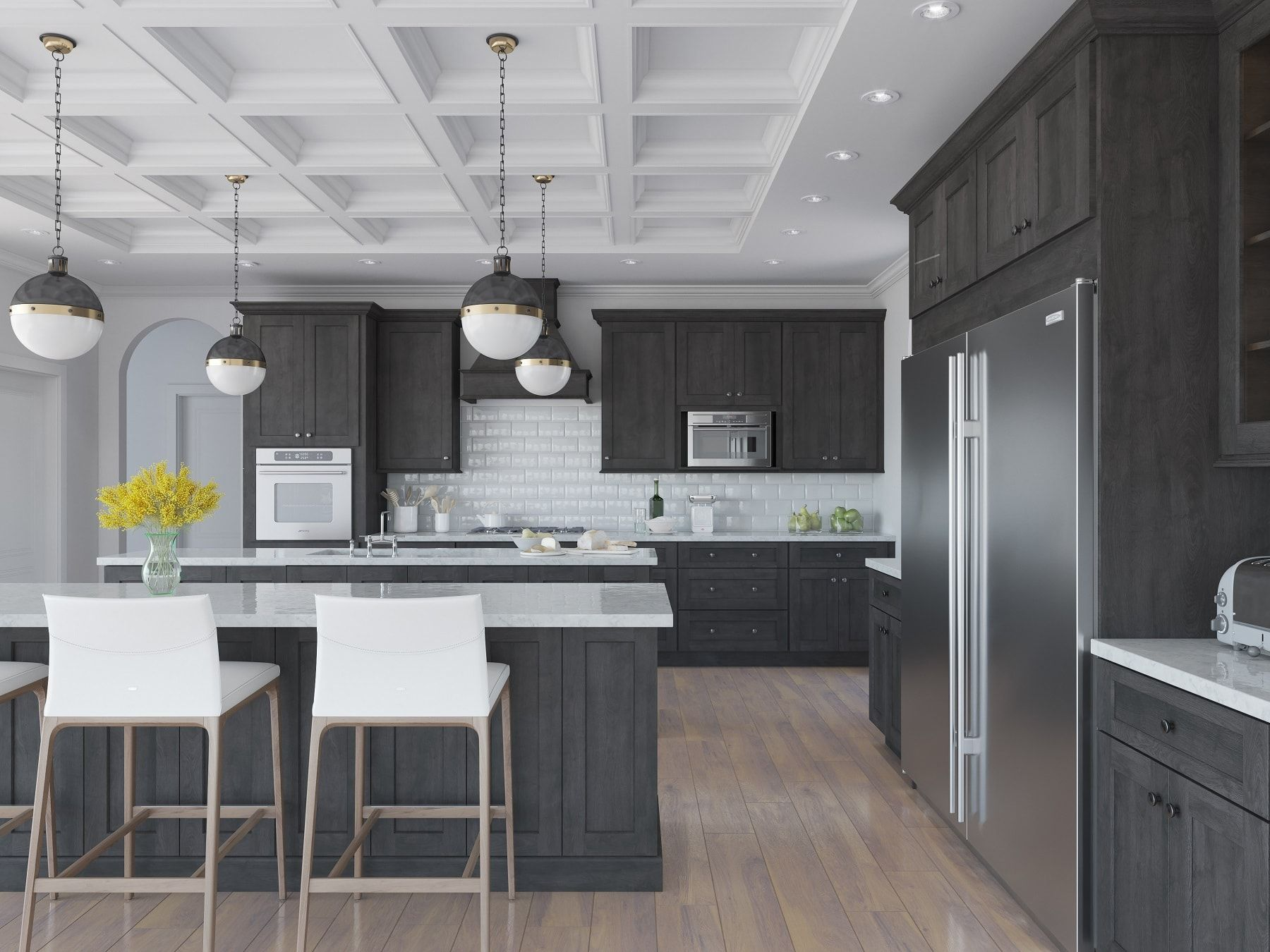 Natural Grey Shaker Ready To Assemble Kitchen Cabinets Kitchen Cabinets Th Kitchen Cabinet Styles Beautiful Kitchen Cabinets Shaker Style Kitchen Cabinets