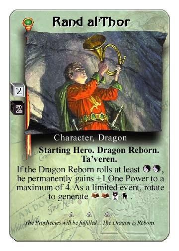 The Wheel Of Time Card Game  Rand AlThor  The Wheel Of Time