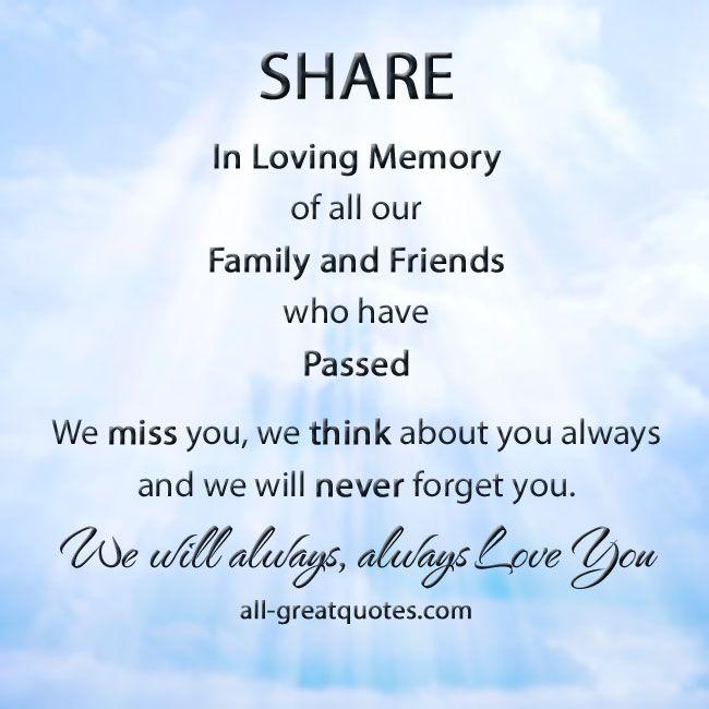 Explore Nice Sayings, In Loving Memory And More!