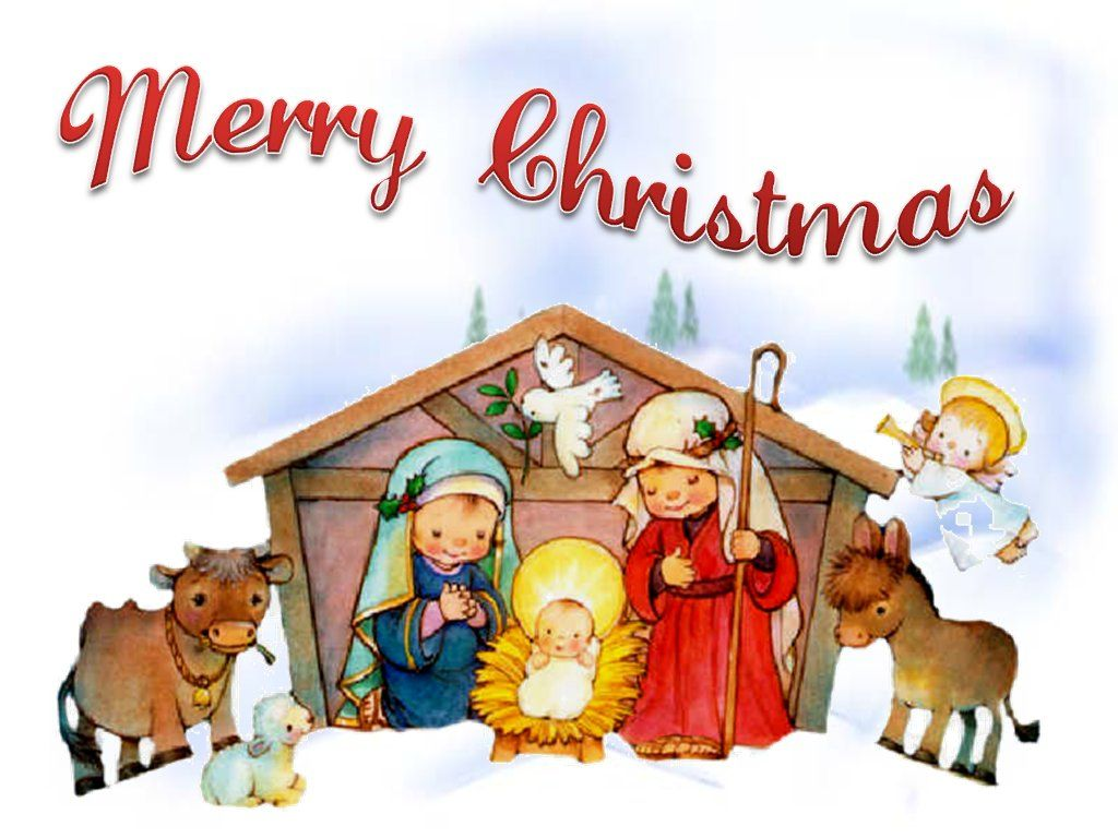 Merry christmas angel nativity cute jesus 1440x900 | NATIVITY ...