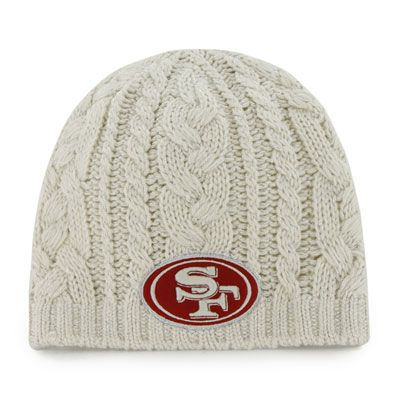 San Francisco 49ers Women S 47 Brand Shawnee Knit Hat 49ers San Francisco 49ers Nfl 49ers Nfl Fans