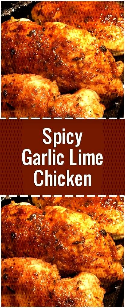 Spicy Garlic Lime Chicken#chicken    Würziges Knoblauch-Kalk-Huhn Huhn
