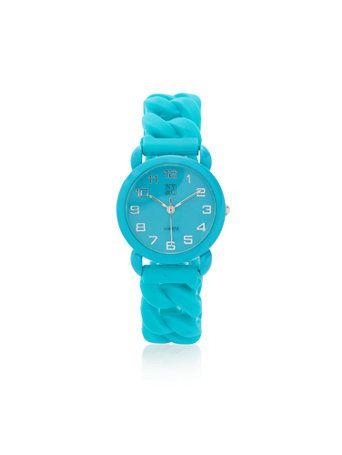 Rubber Strap Watch
