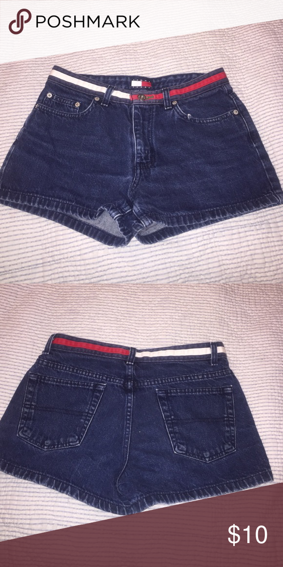 Tommy Jean Denim Shorts So cute Vintage Shorts Tommy Hilfiger Shorts Jean Shorts