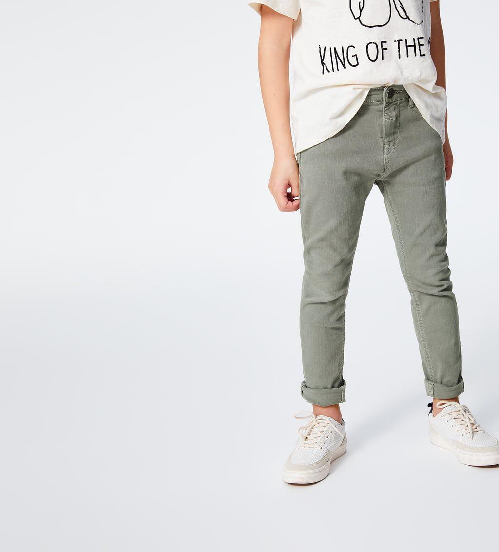 Pantalones Para Nino Nueva Coleccion Online Zara Espana