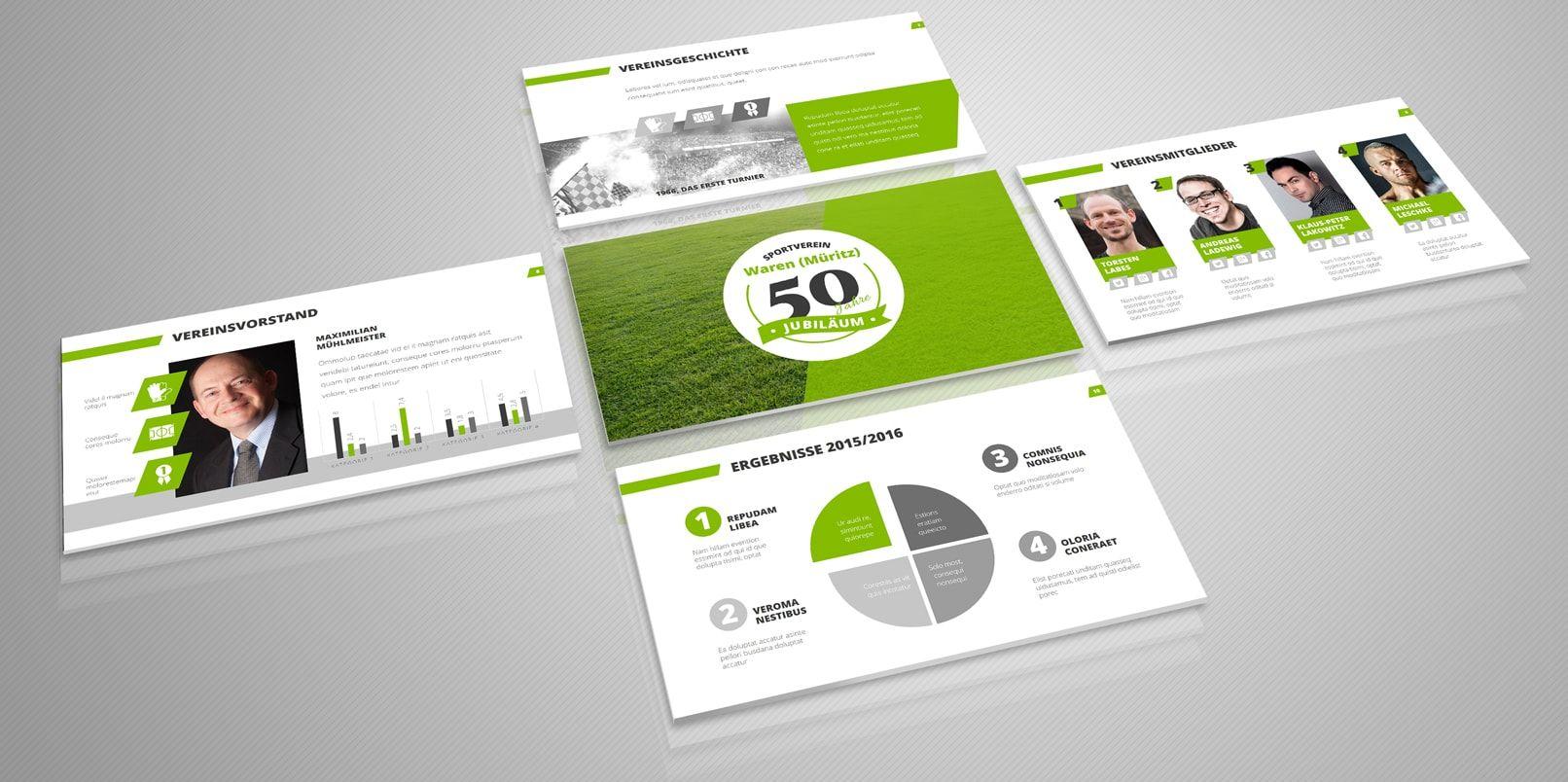 Professionelle PowerPoint-Vorlagen: Designs für eine gelungene ...