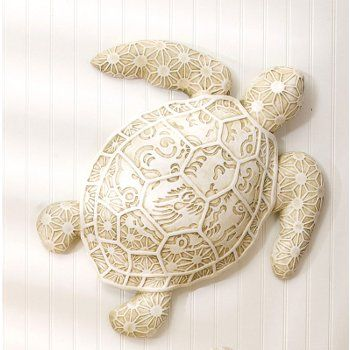 resin turtle wall decor large large turtle art can be indoor or outdoor if under - Coastal Wall Decor