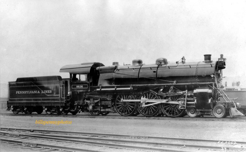 Class K2 Pennsylvania R R 4 6 2 Pacific Steam Engine Trains Pennsylvania Railroad Railroad