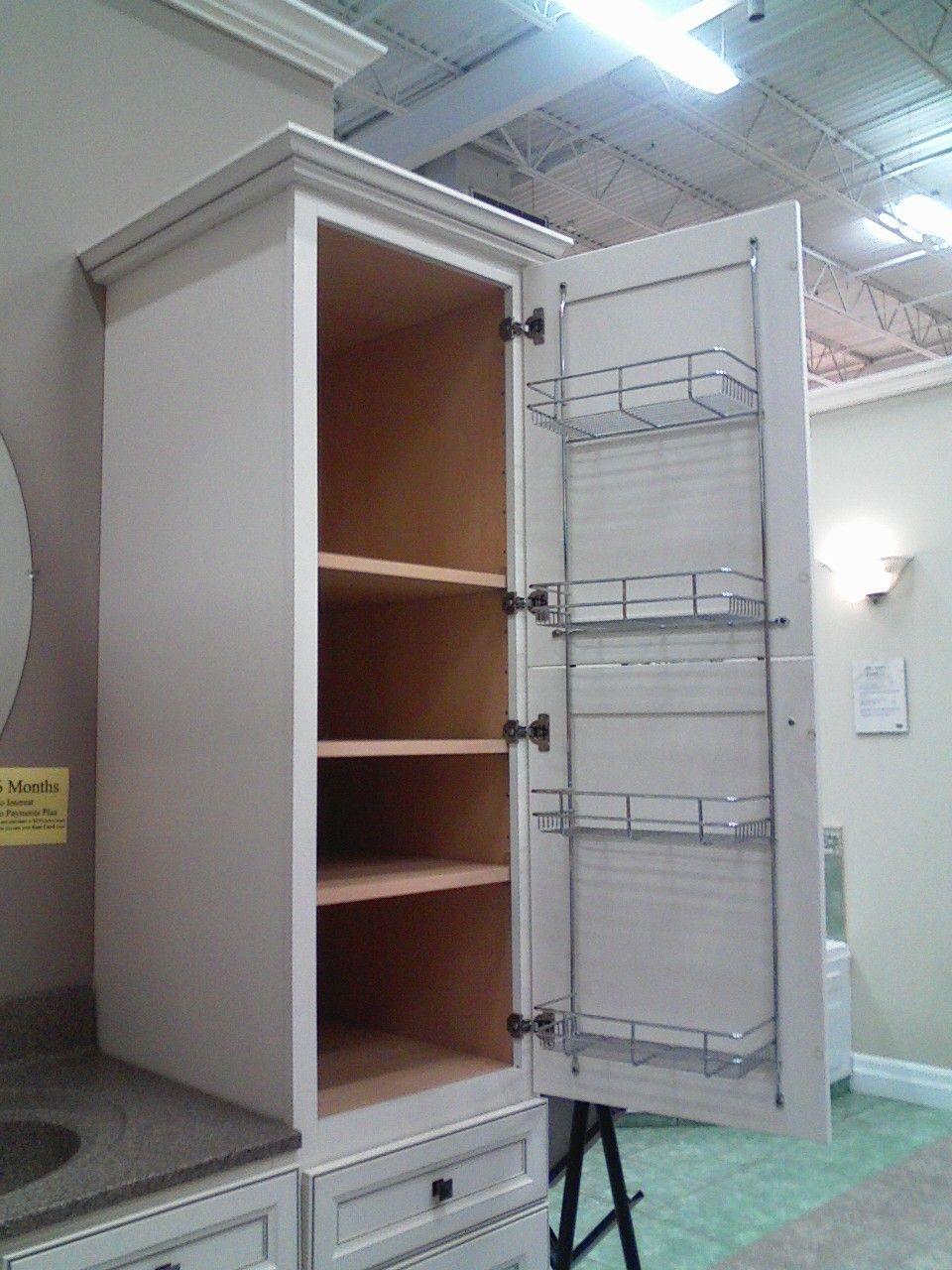 Superbe Wire Shelves Inside Cabinet  Good For Extra Shampoo Bottles, Bars Of Soap,