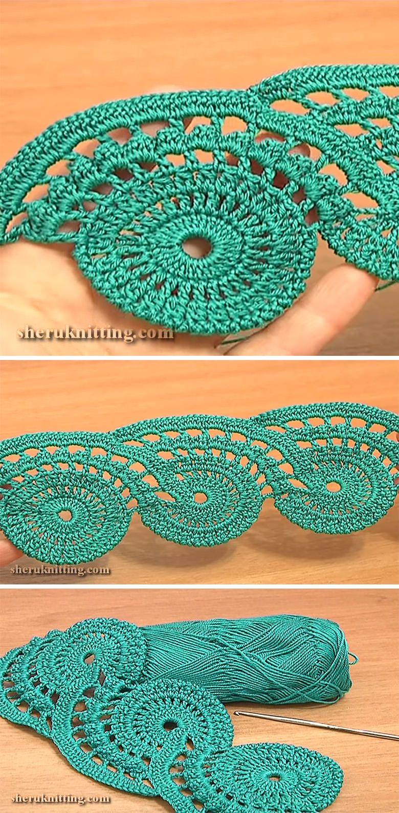 Lace crochet pattern tutorial kenar dantelleri pinterest lace crochet pattern tutorial bankloansurffo Gallery