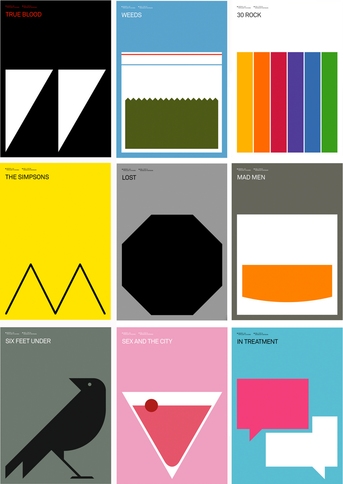 Alternate Poster Tv Series Book Cover Design Typography