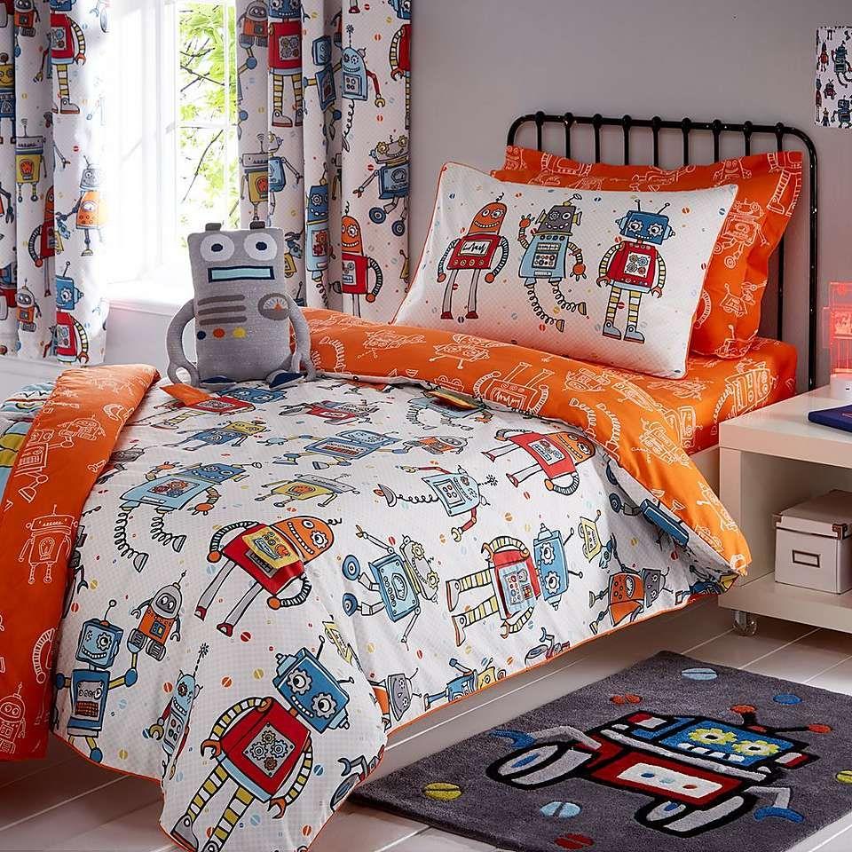 Robots Bedroom Collection  Dunelm  Robot bedroom, Robot bedroom