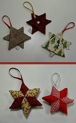 Estrellas de Navidad   DIY   Patchwork   Christmas stars