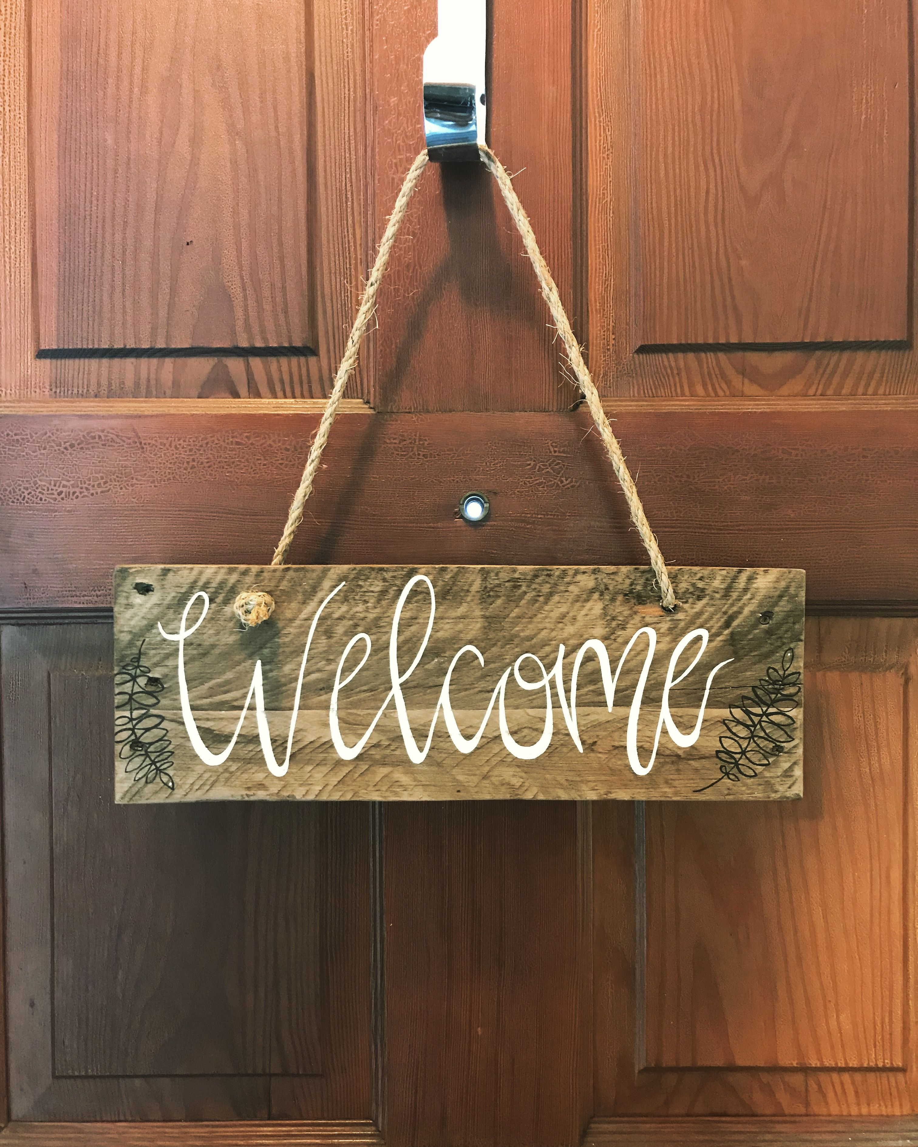 welcome signs diy - HD3024×3780