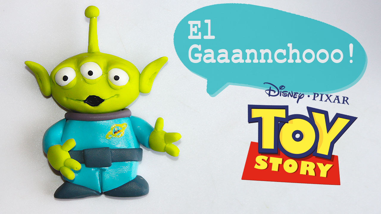 Tutorial : https://www.youtube.com/watch?v=yi07og5EbzU&list=UUaSR6Dhv-1z6GKvlBbmn2BA #ToyStory #Marcianito #Elgancho #PolymerClay #Arcillapolimérica #Fimo #Sculpey