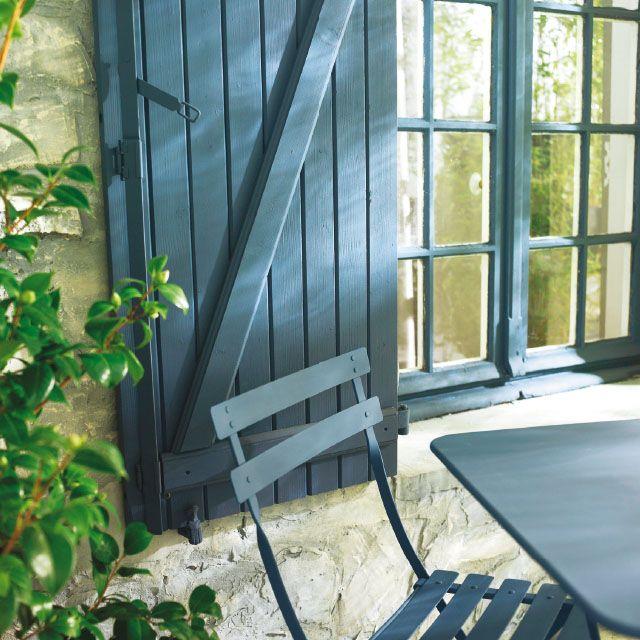 peinture bois ext rieur tollens gris anthracite satin 2l 20 gratuit ff exterior. Black Bedroom Furniture Sets. Home Design Ideas