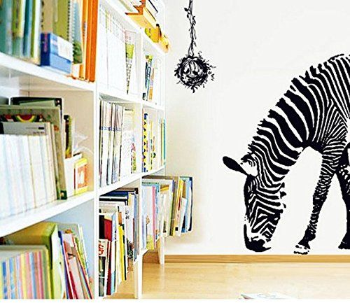 Circle of Life Quote Zebra Wall Mural Home Decor Sticker