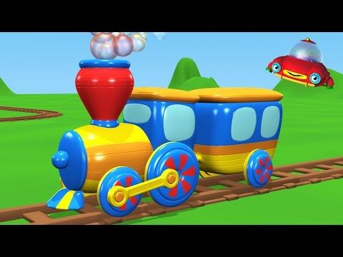 Transports For Kids 2d Animation Rhymes For Children Youtube