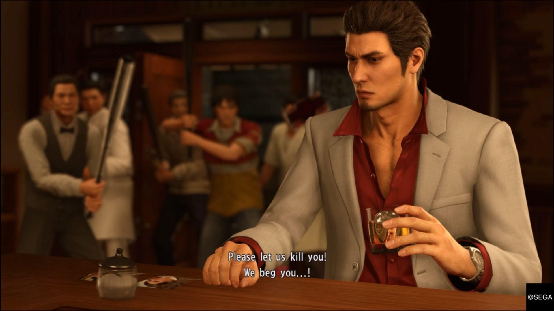 Pin By ℊ On Yakuza Kiryu Reaction Face Video Games