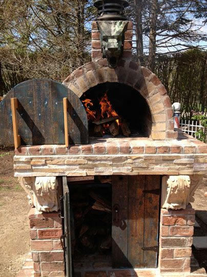 The Quiambao Family Wood Fired Diy Brick Pizza Oven In New York