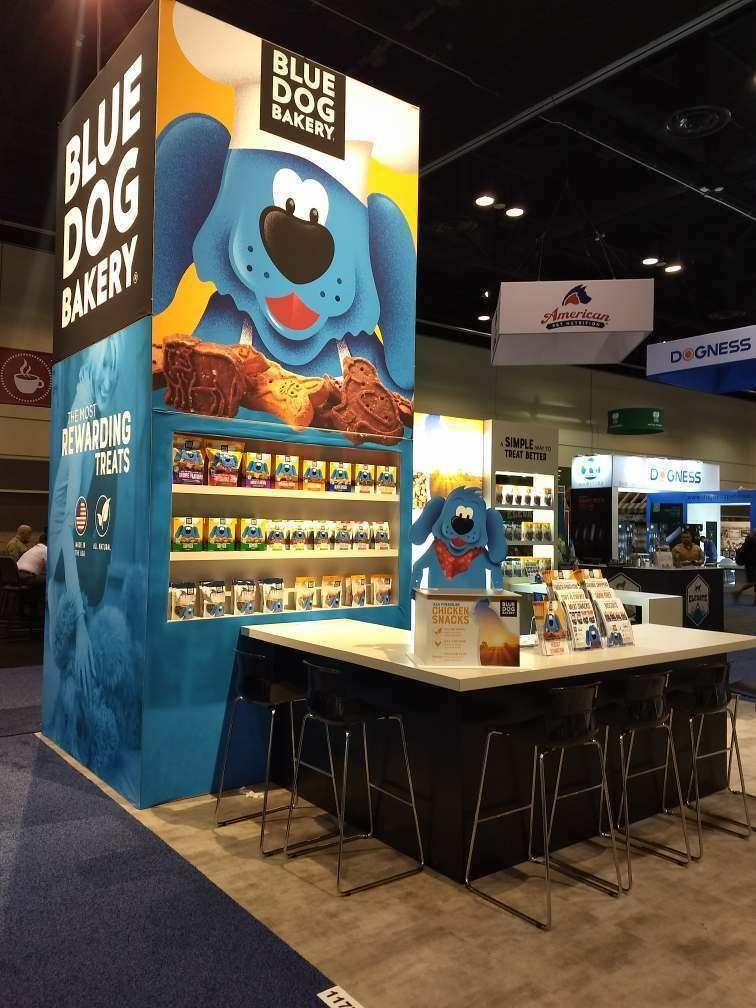 Blue Dog Bakery at Global Pet Expo 2018 by mackenzie