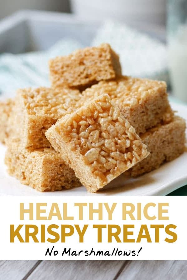 Healthy Rice Crispy Treats (Vegan)