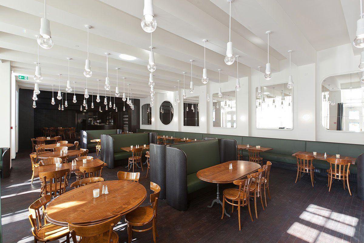 Volkshaus Basel Bar And Brasserie By Herzog De Meuron Switzerland