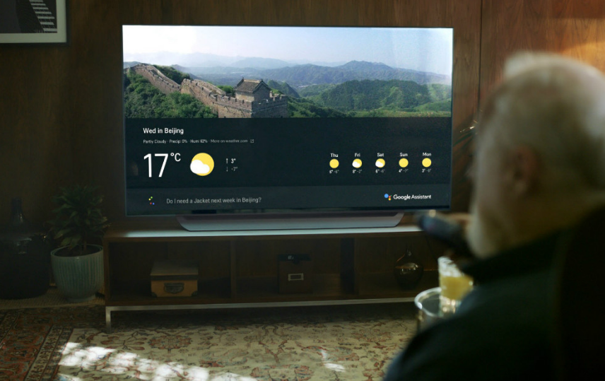 Forecast Tvs Lg Flat Oled Super Uhd Are Coming With The Plugin Google Smart Tv Uhd Tv Android Tv