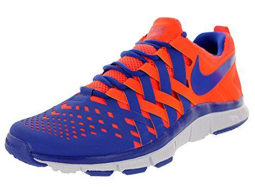 pretty nice 25e6f adaad Nike Men s Free Trainer 5.0 Nrg Total Crimson Hyper Blue White Training  Shoe 10.5
