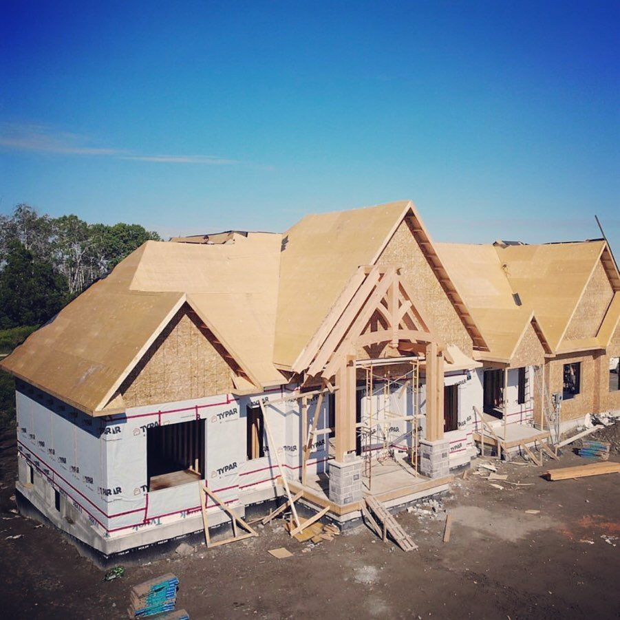 Swipe To Check Out How The Port Perry Estate Project Is Coming Along Ontarioframing Port Perry Estates Construction