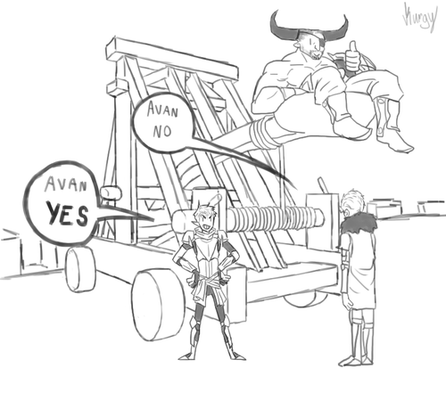 cullen my doodles dragon age inquisitor dragon age inquisition iron bull lavellan Avan Lavellan Bull is totally on board with this idea drew a comic because