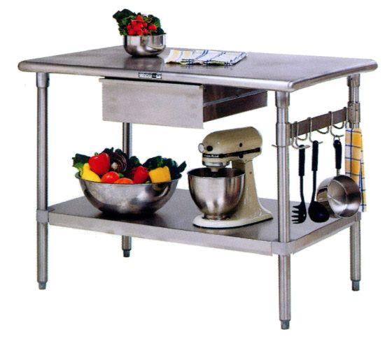 John Boos - Cucina Forte Stainless Steel Kitchen Island