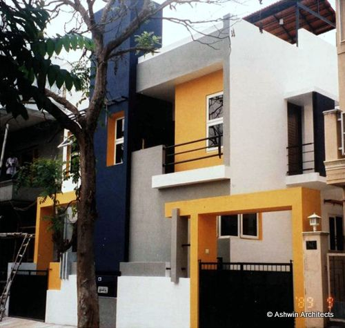 Modern duplex house plans in bangalore beautiful duplex for Duplex house models