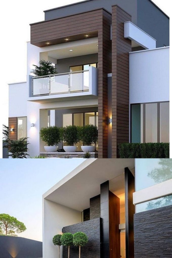 Casa Ultra Moderna Por Dentro Y Fuera En 2020 Fachada De Casa Fachadas Casas Minimalistas Disenos De Casas