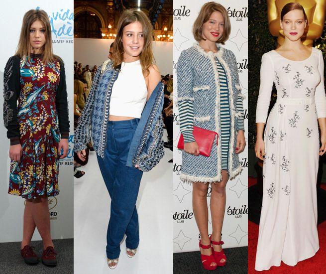 Lea Seydoux And Adele Exarchopoulos Fashion Star Fashion Style