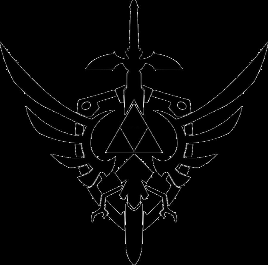 Triforce design vector 2 by reptiletc It's pretty epic