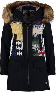 Original abrigo de mujer de  Desigual. Sheila 710691ea6ba6