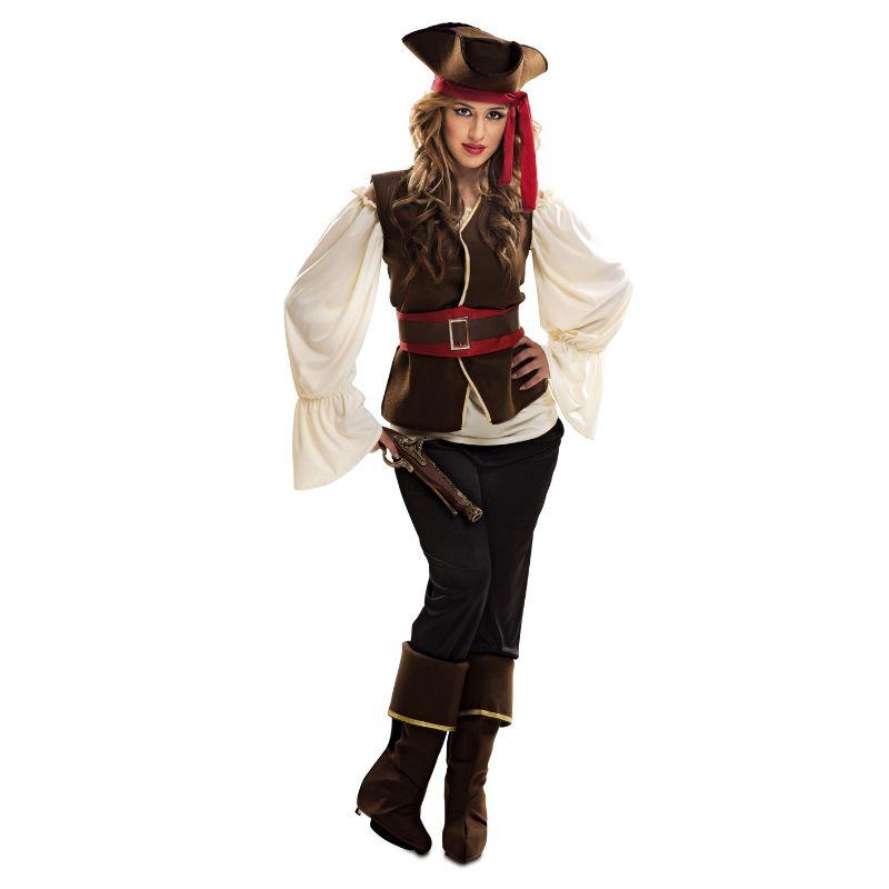 Disfraz de Bucanera Pirata #disfraces #carnaval