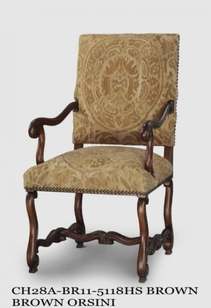 Good Orsini Brown Armchair By The French Market Collection